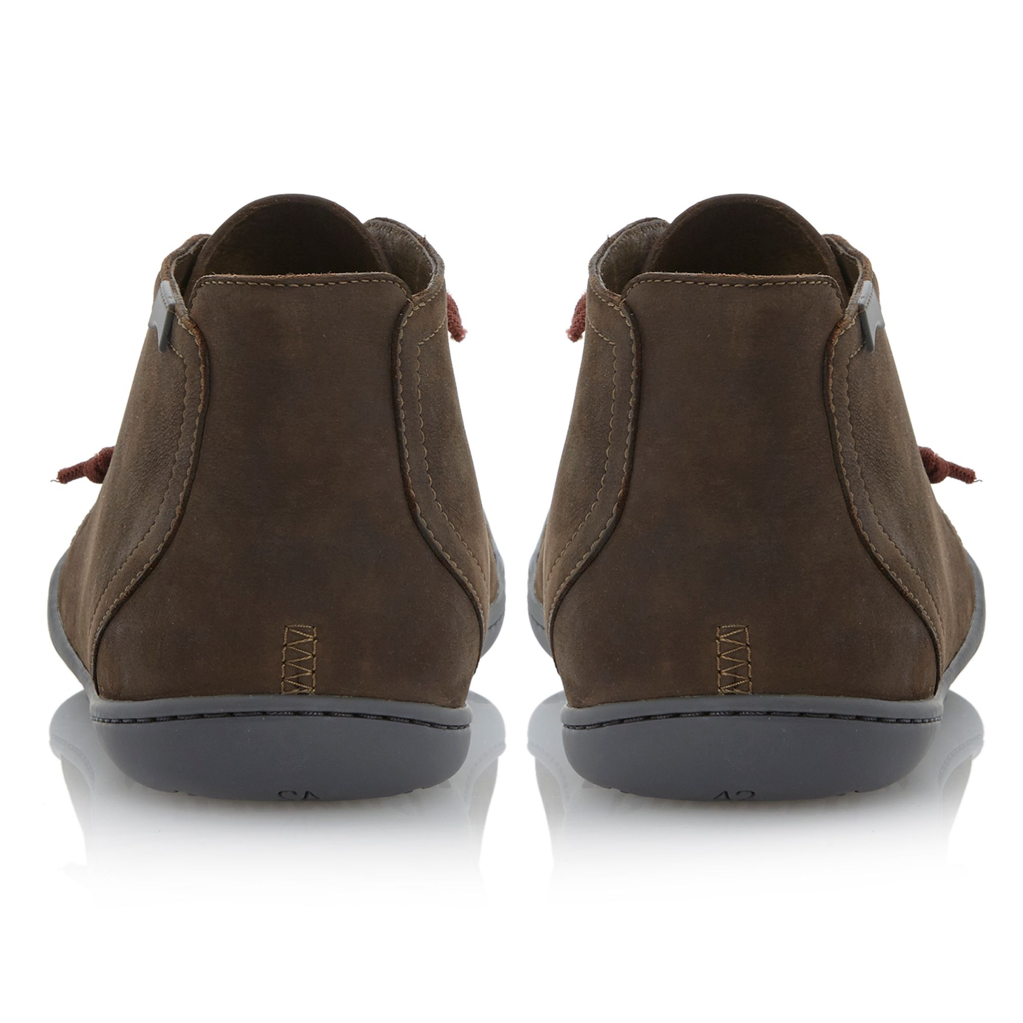 465feed8f0d2 Brown Men Peu Lace In Lyst For Camper Boot Elastic Cami RvxUPqY