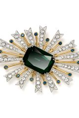 Carolee Sunburst Stone Pin - Lyst