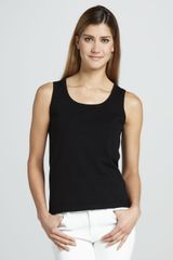 Michael Simon Solid Knit Shell - Lyst