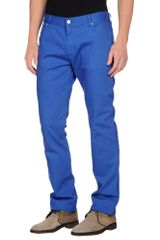 Paul Smith Denim Pants - Lyst