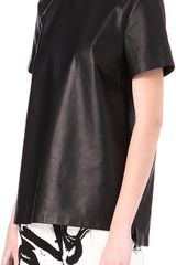 Proenza Schouler Leather Top - Lyst