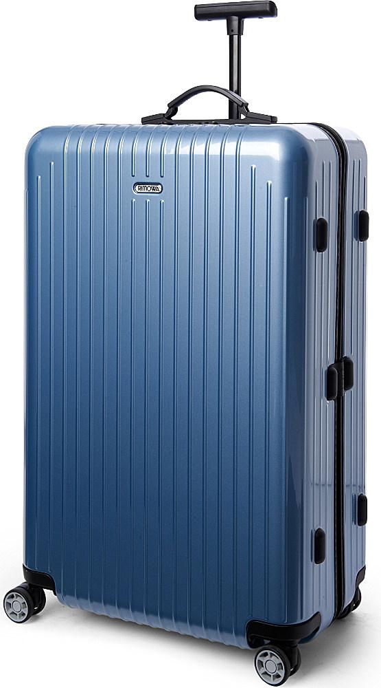 rimowa salsa air four wheel spinner suitcase 74cm in blue for men lyst. Black Bedroom Furniture Sets. Home Design Ideas