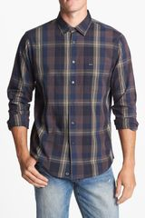 RVCA Coastline Plaid Shirt - Lyst