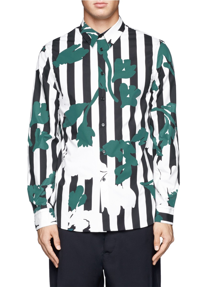 Marni printed shirt Cheap Sale Perfect Free Shipping Best 2018 New Online S7f0tonzF