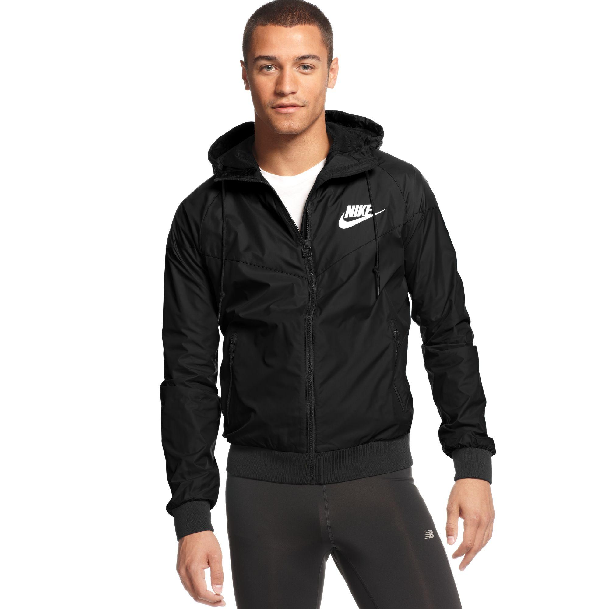 4b348802c14f Lyst - Nike Wind Runner Hooded Jacket in Black for Men