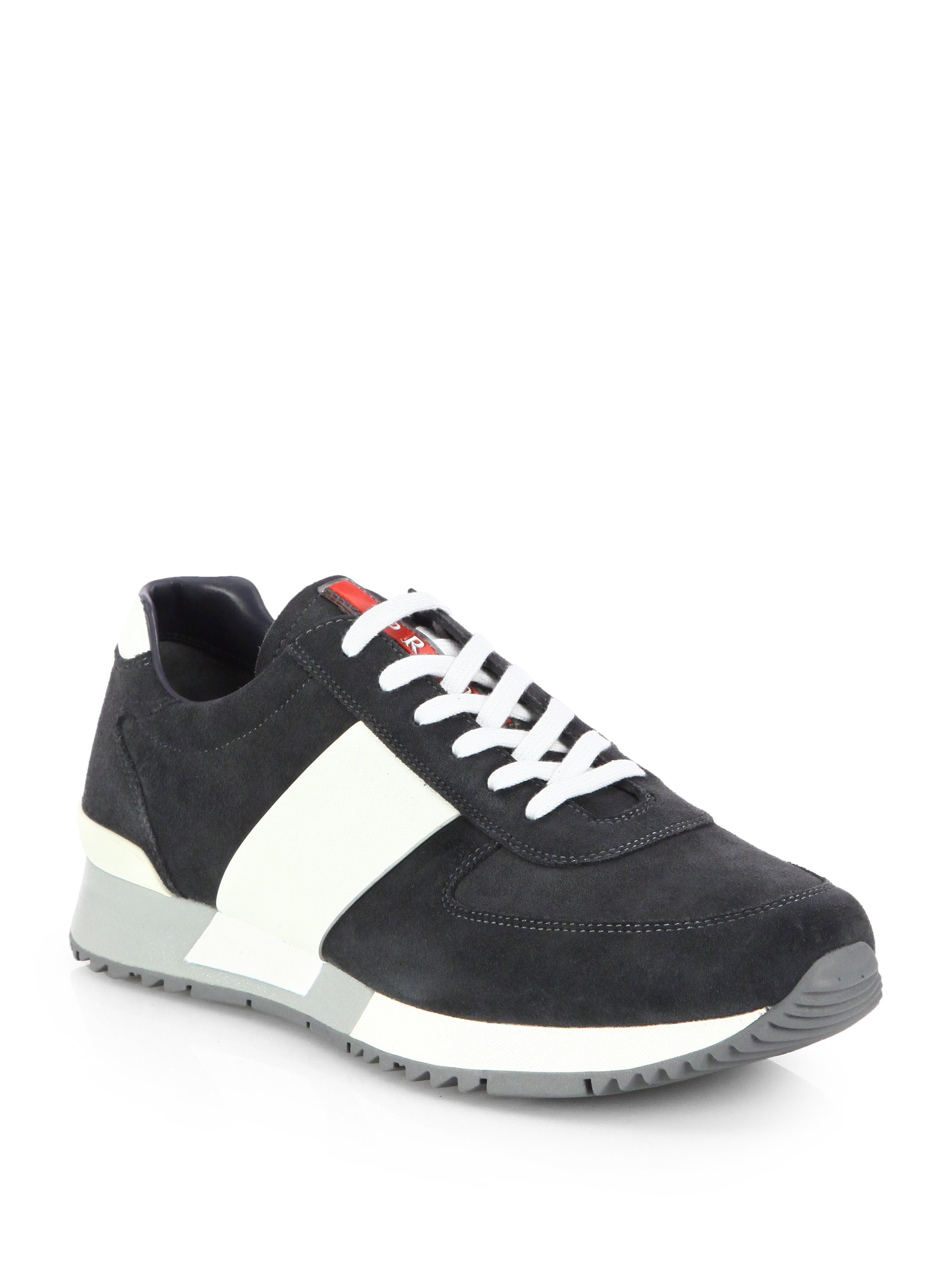 Prada Lace Up Mens Shoes