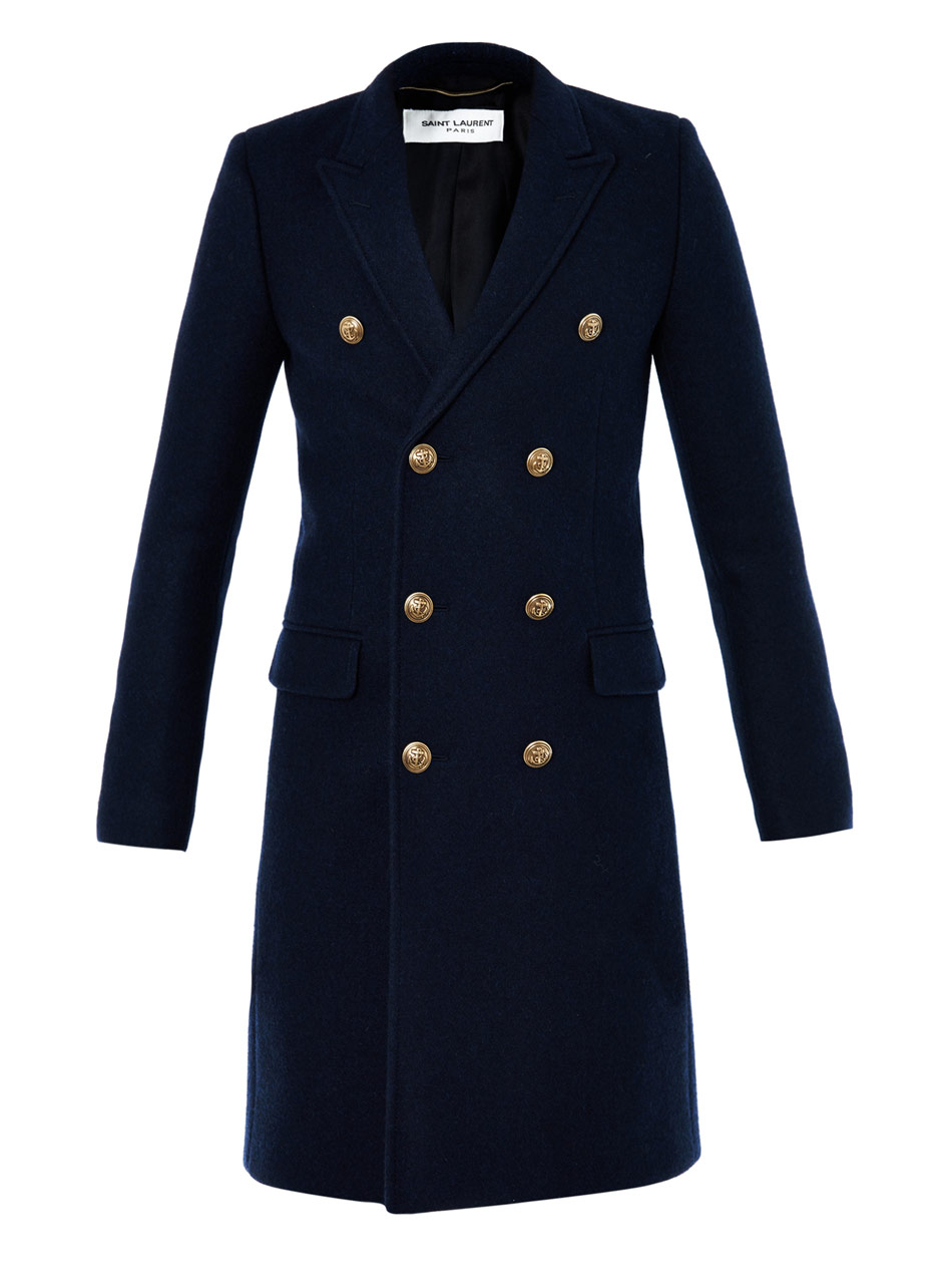 Double Breasted Wool Coats