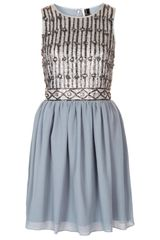 Topshop Embellished Bodice Prom Dress - Lyst