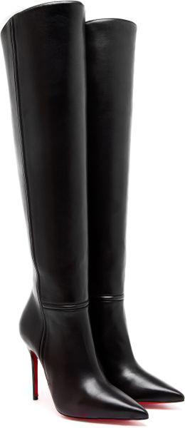 Christian Louboutin Armurabotta Leather Kneehigh Boots - Lyst