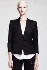 Helmut Helmut Lang Reflect Single-button Blazer - Lyst