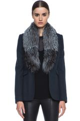 Joseph Lady Jacket with Fur Collar - Lyst