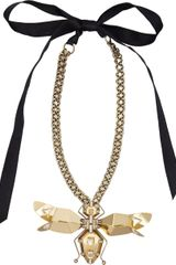 Lanvin Crystal Long Luisa Necklace - Lyst