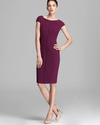Max Mara Studio Lison Dress with Seam Detail - Lyst