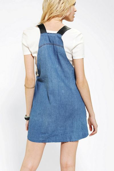 5e05d13950e Denim Overall Dress Urban Outfitters