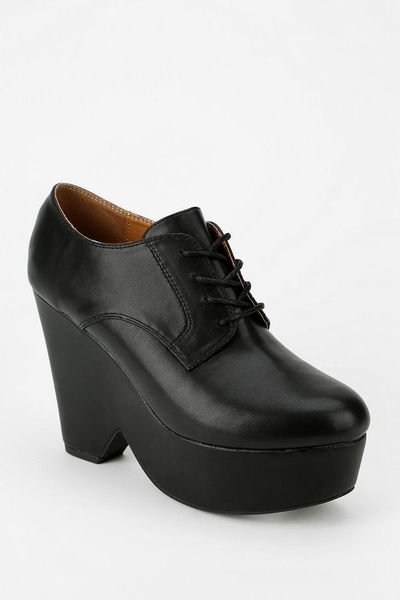 Urban Outfitters Cooperative Laceup Platform Oxford in ...
