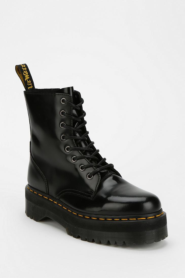 551b24ef6665 Lyst - Dr. Martens Dr Martens Jadon 8eye Platform Boot in Black