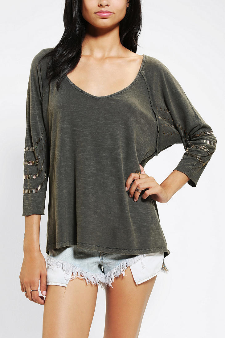urban outfitters black ecote dallas sequin top product 1 13924984 858934014