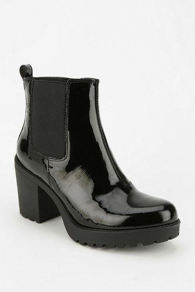 urban outfitters vagabond grace platform ankle boot in black lyst. Black Bedroom Furniture Sets. Home Design Ideas