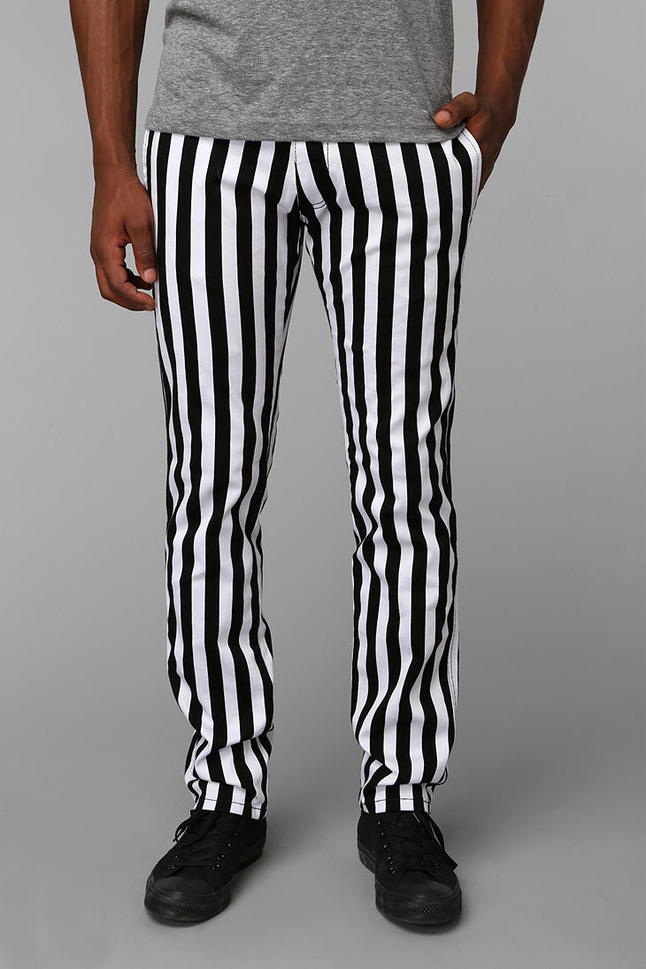 Lyst Urban Outfitters Tripp Nyc Stripe Top Cat Pants In