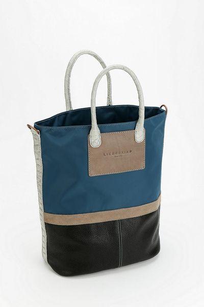 Urban Outfitters Liebeskind Berlin Stella Tote Bag In Blue