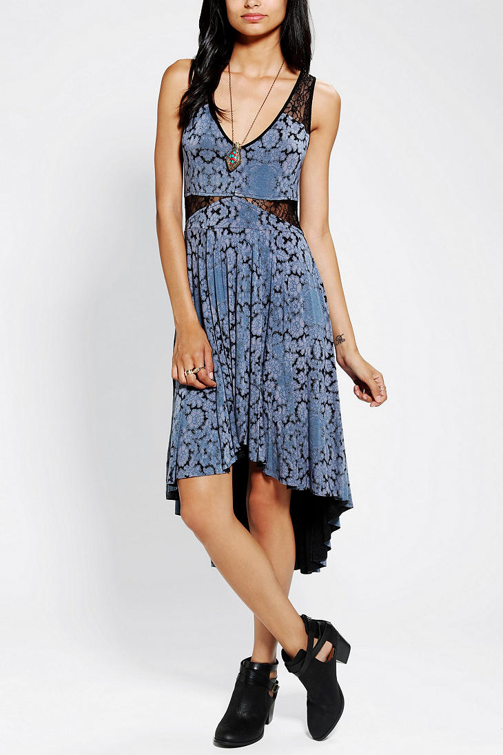 Urban Outfitters Ecote High Low Lace Dress Lyst