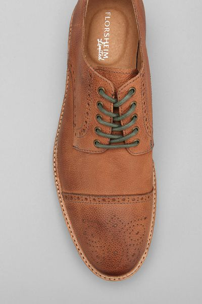 Urban Outfitters Captoe Oxford Shoe In Brown For Men | Lyst