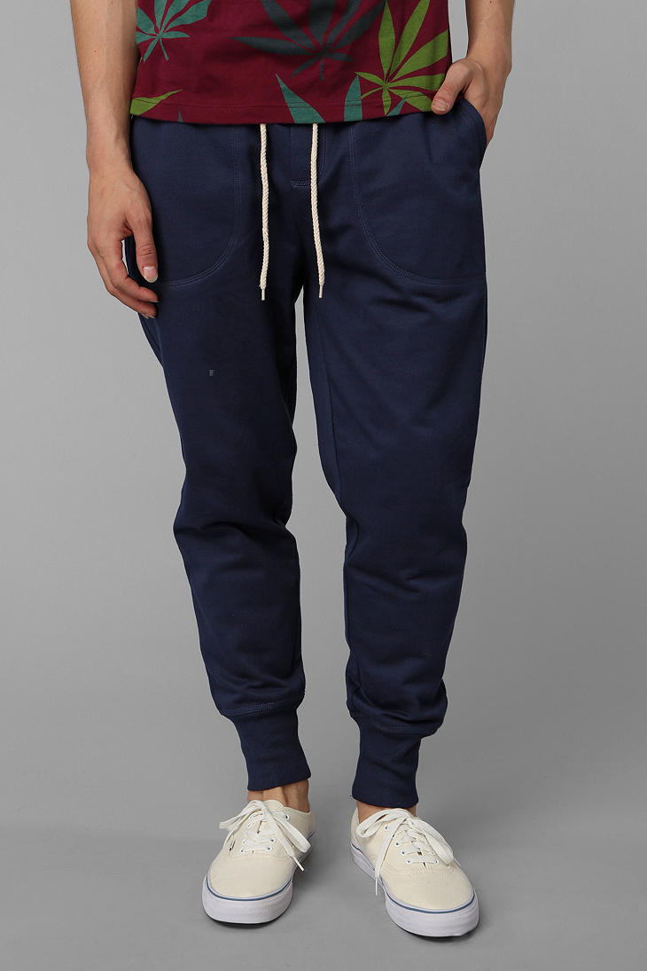 Lyst Urban Outfitters Bdg Mocktwist Jogger Pant In Blue