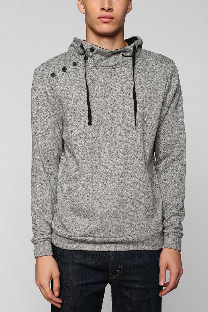 Urban outfitters The Narrows Asymmetrical Pullover Hoodie ...