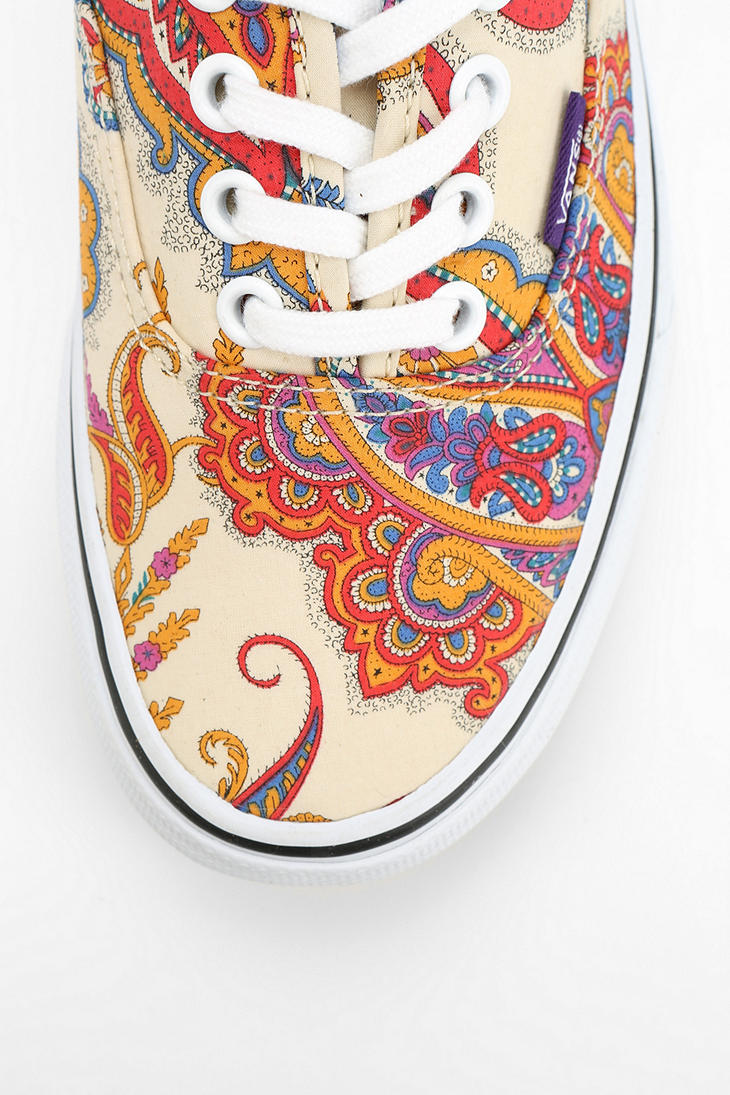 ae6b277e4a Lyst - Urban Outfitters Vans X Liberty London Authentic Paisley ...