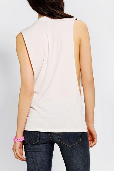 Urban outfitters corner shop roosevelt cat muscle tee in for Lucky cat shirt urban outfitters