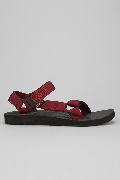 Urban Outfitters Teva Original Universal Sandal In Red For