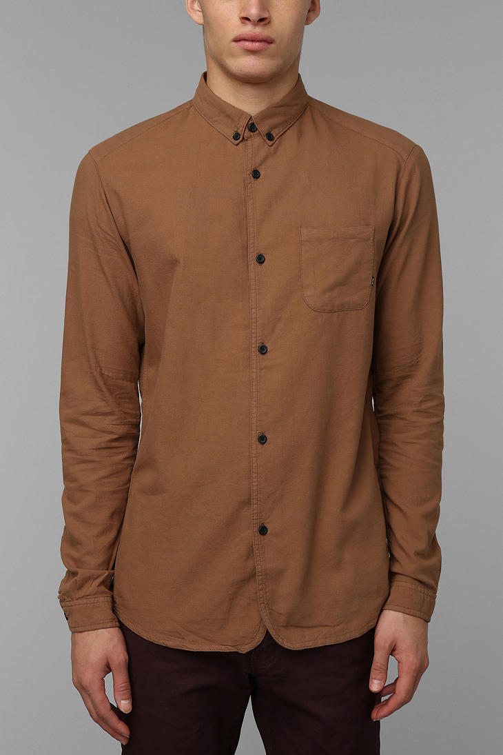 Urban outfitters Globe Good Stock Oxford Button Down Shirt in ...