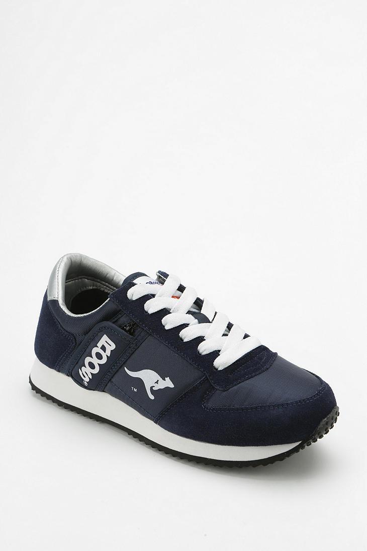 4348b7425c29c7 Urban Outfitters Kangaroos Combat Running Sneaker in Blue