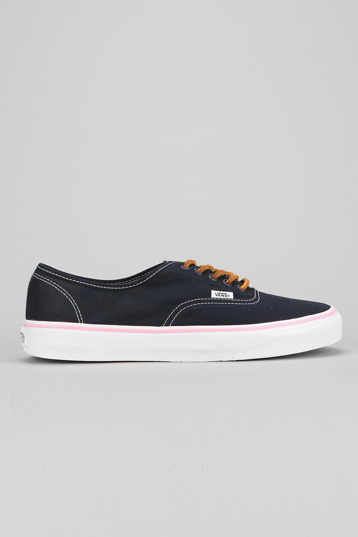43ee67a18c71c7 Lyst - Urban Outfitters Vans Authentic Brushed Twill Mens Sneaker in ...