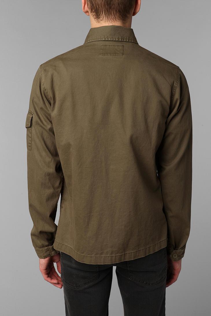 Safari Shirt Cognac Heels: Urban Outfitters Allson Safari Shirt Jacket In