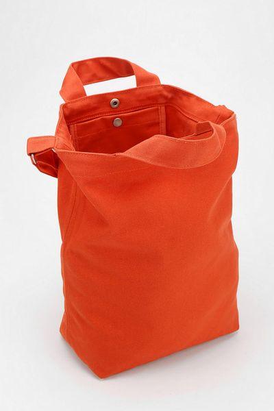 Urban Outfitters Baggu Canvas Duck Tote Bag In Orange Lyst