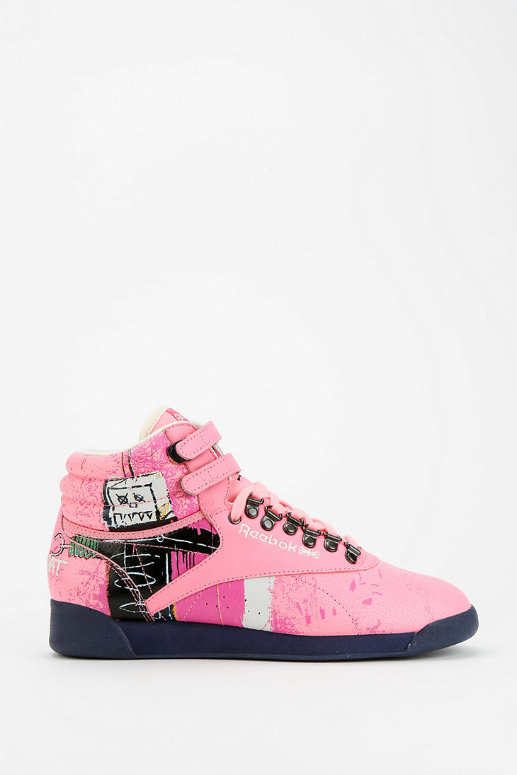 Reebok Leather Freestyle Basquiat Sneakers buy cheap high quality choice online visa payment for sale for sale cheap authentic xgklPD