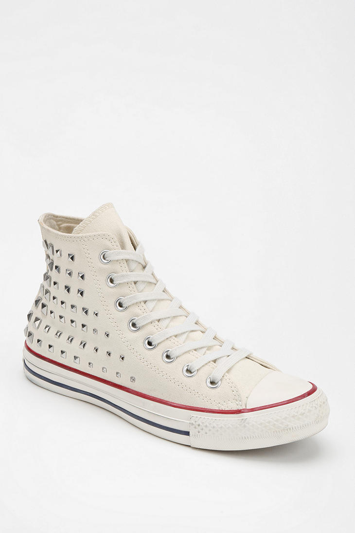 efa6022e140c Lyst - Urban Outfitters Converse Chuck Taylor All Star Studded ...