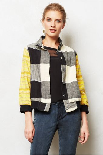 Ace & Jig Domino Bomber Jacket - Lyst