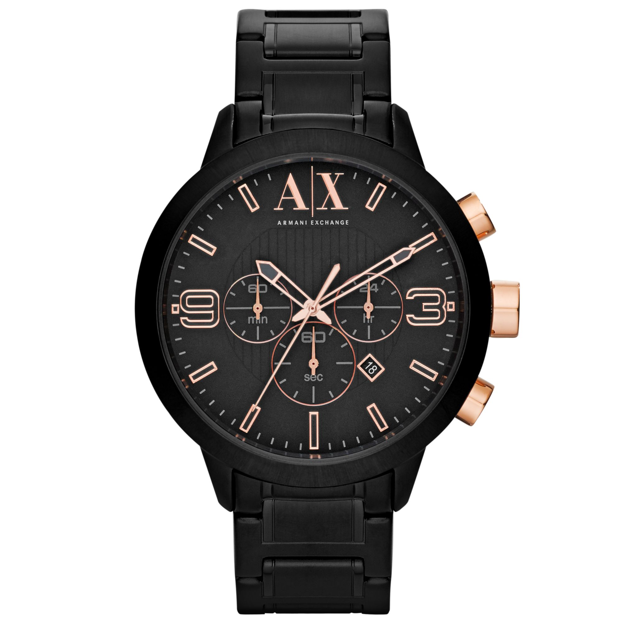 Armani Exchange Ax Armani Exchange Watch Mens Chronograph ...