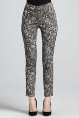 Berek New Lace Skinny Ankle Pants - Lyst