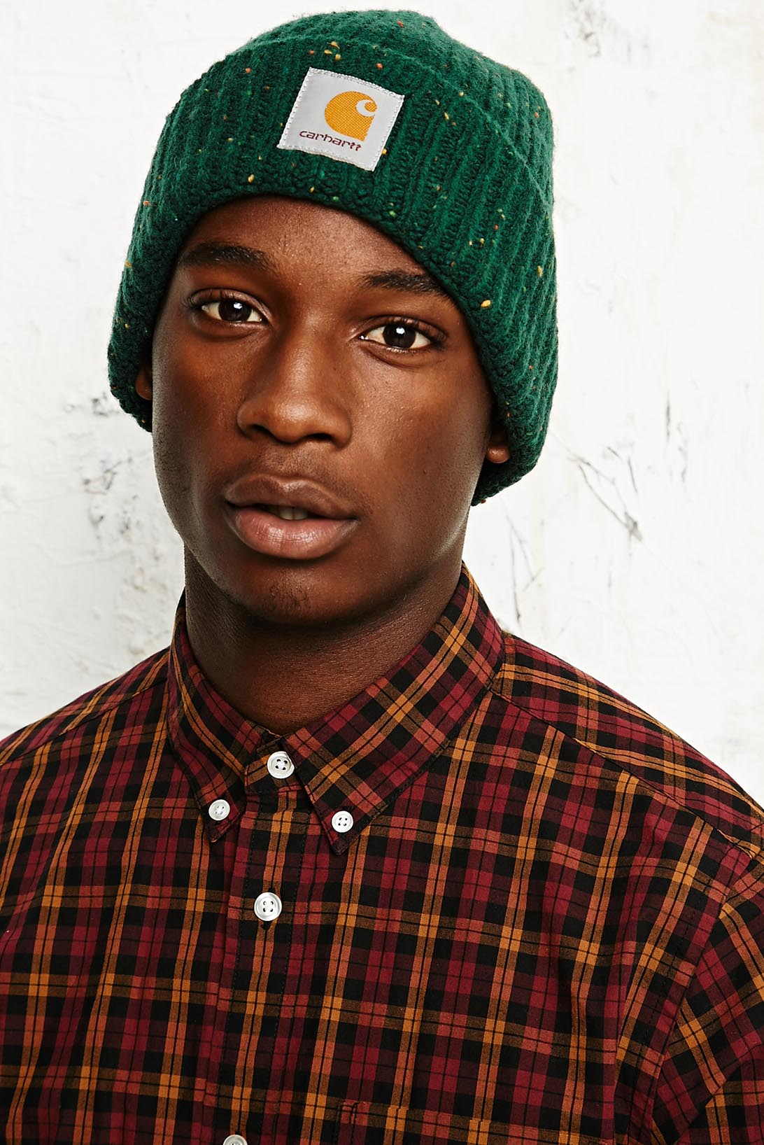 35670697d40 Carhartt Anglistic Beanie Hat In Green In Green For Men Lyst