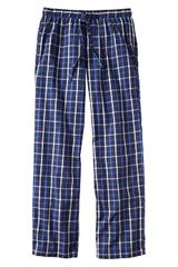 Gap Blue Windowpane Pj Bottoms - Lyst