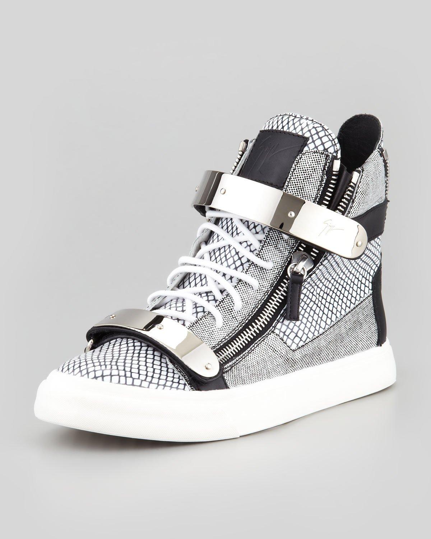 Giuseppe Silver Shoes Mens