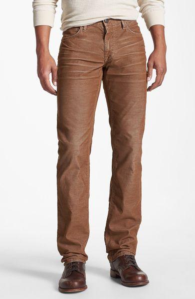 Beautiful Womens Chicos Size 2 Regular Dark Brown Corduroy Pants