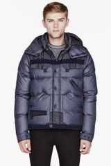 Moncler Grey Patterned White Mountaineering Edition Reaper Jacket - Lyst
