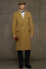 Polo Ralph Lauren Wool Double-breasted Polo Coat - Lyst