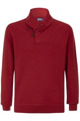 Polo Ralph Lauren Shawl Neck Jumper - Lyst