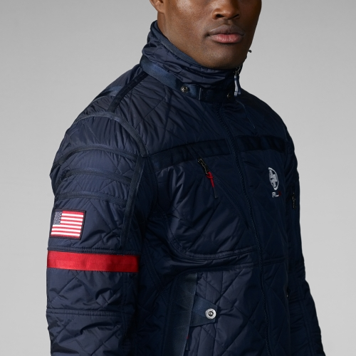 Cheap Abercrombie Fitch Clothing 09 New Abercrombie Mens Hoodies Best Abercrombie Fitch Clothing: Rlx Ralph Lauren Quilted Mercury Jacket In Blue For Men