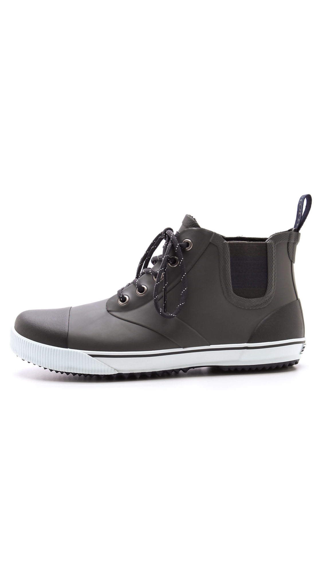 Lyst Tretorn Gunnar Lace Up Boots In Metallic For Men